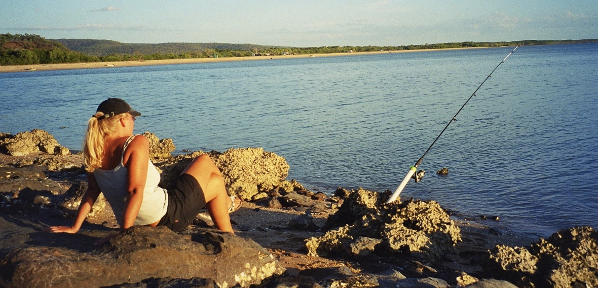 Enjoying the simple things in life on Cape York Peninsula, Queensland, Australia