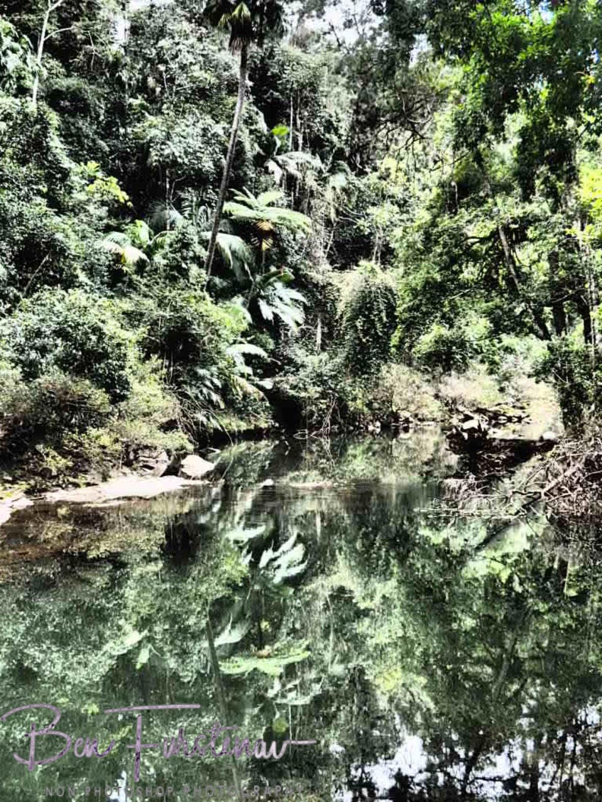 Endless reflections at Eungalla National Park, Queensland, Australia