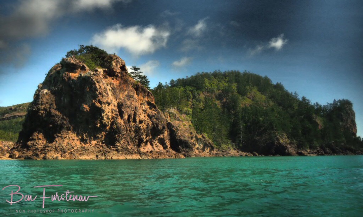 Northern headland at Cape Hillsborough, Queensland, Australia