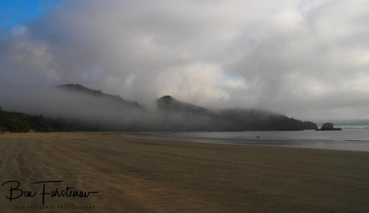 A foggy day st Cape Hillsborough, Queensland, Australia