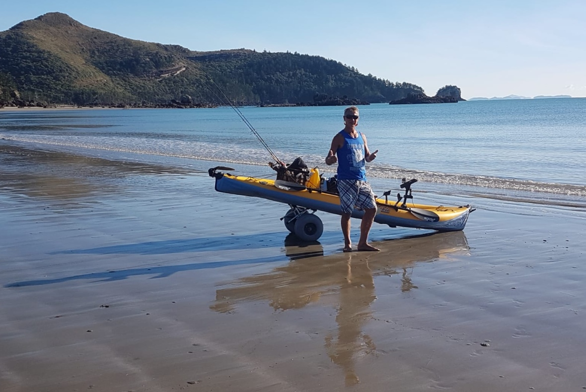 Ready to go at Cape Hillsborough, Queensland, Australia
