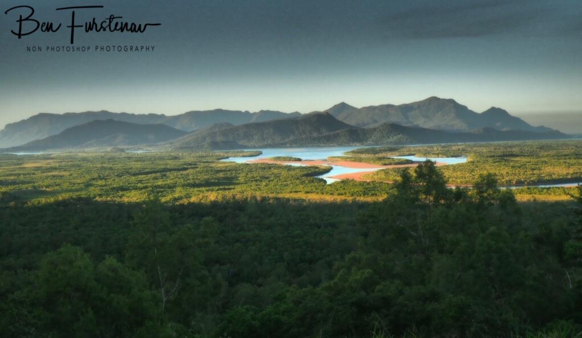 Hinchinbrook island and mangrove channel, Queensland, Australia