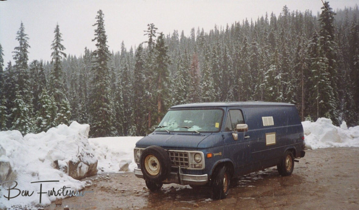 My awesome Chevy Van in Canada