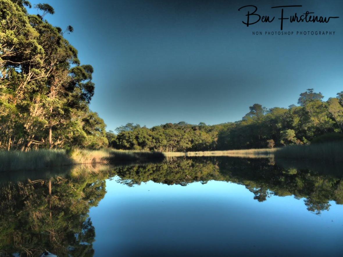 Giant mirror Lake Paluma, Northern Queensland, Australia