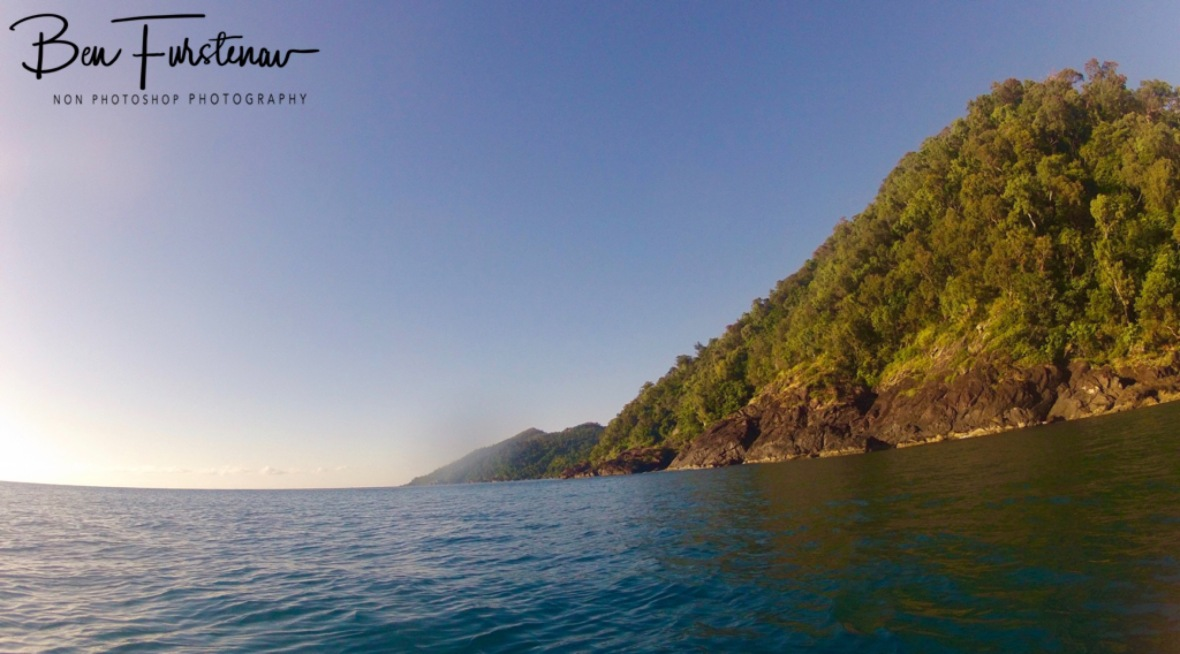 Looking South from Dunk Island's Northern Tip, Mission Beach, Tropical Queensland, Australia