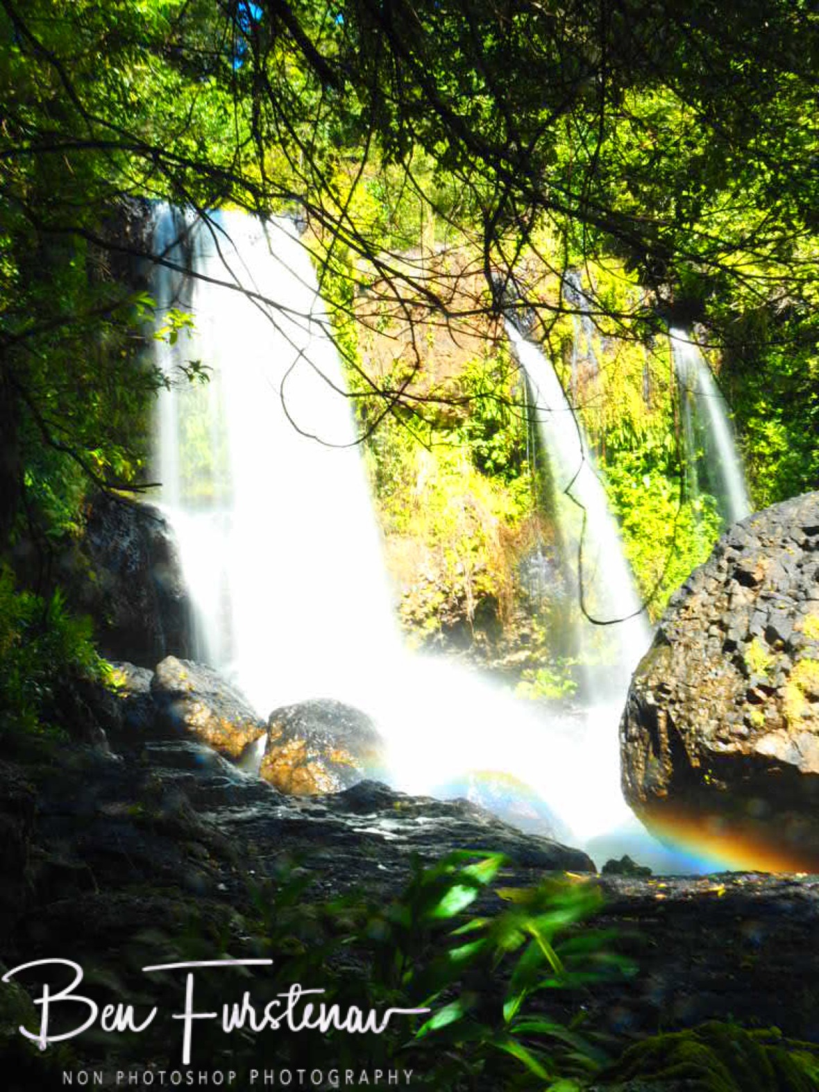 Amazing waterfall introduction to the Atherton Tablelands, Far North Queensland, Australia