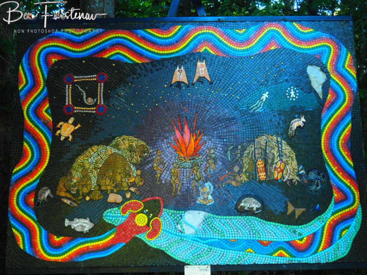 Aboriginal Dreamtime at Atherton Tablelands, Far North Queensland, Australia