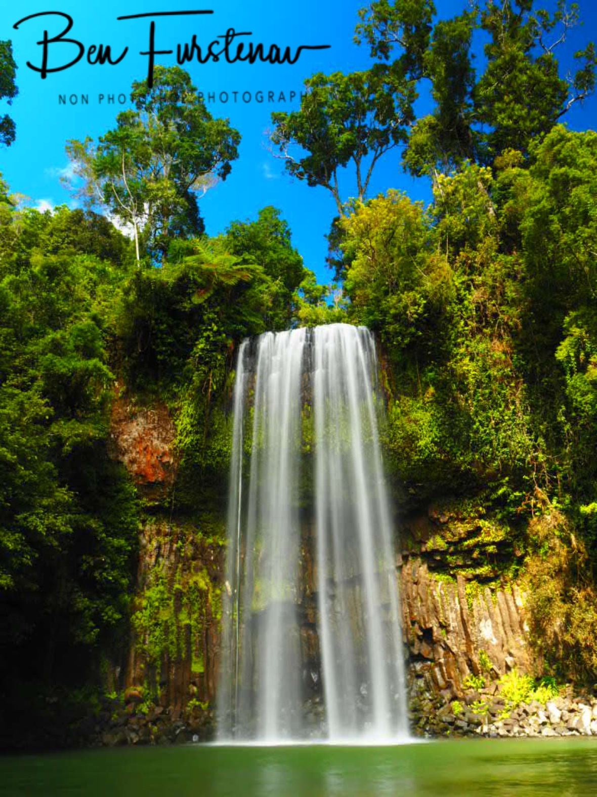 Millaa Millaa Falls on a sunny day, Atherton Tablelands, Far North Queensland, Australia