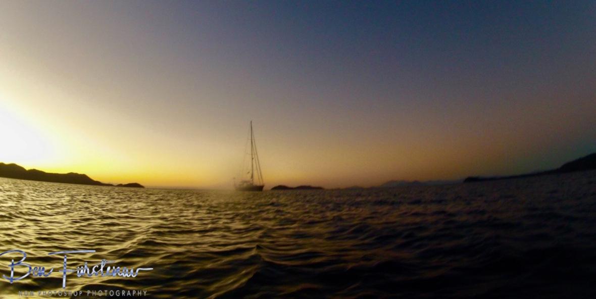 Sunrise over Dunk Island, Tropical Queensland, Mission Beach, Australia