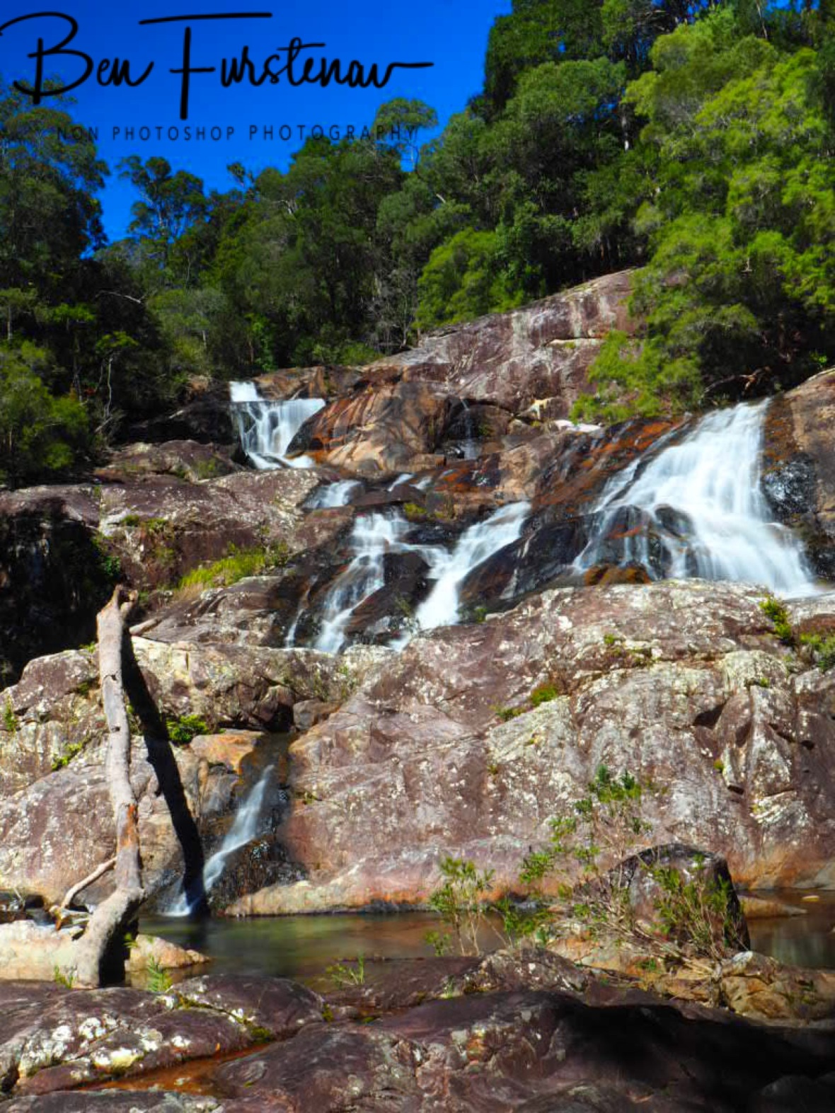 Just spectacular Birthday Creek Falls, Northern Queensland, Australia