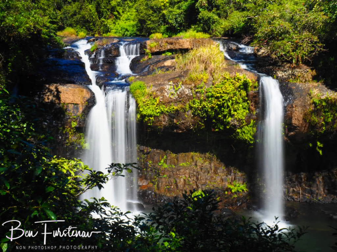 First sight on Tchupala Falls, Atherton Tablelands, Far North Queensland, Australia