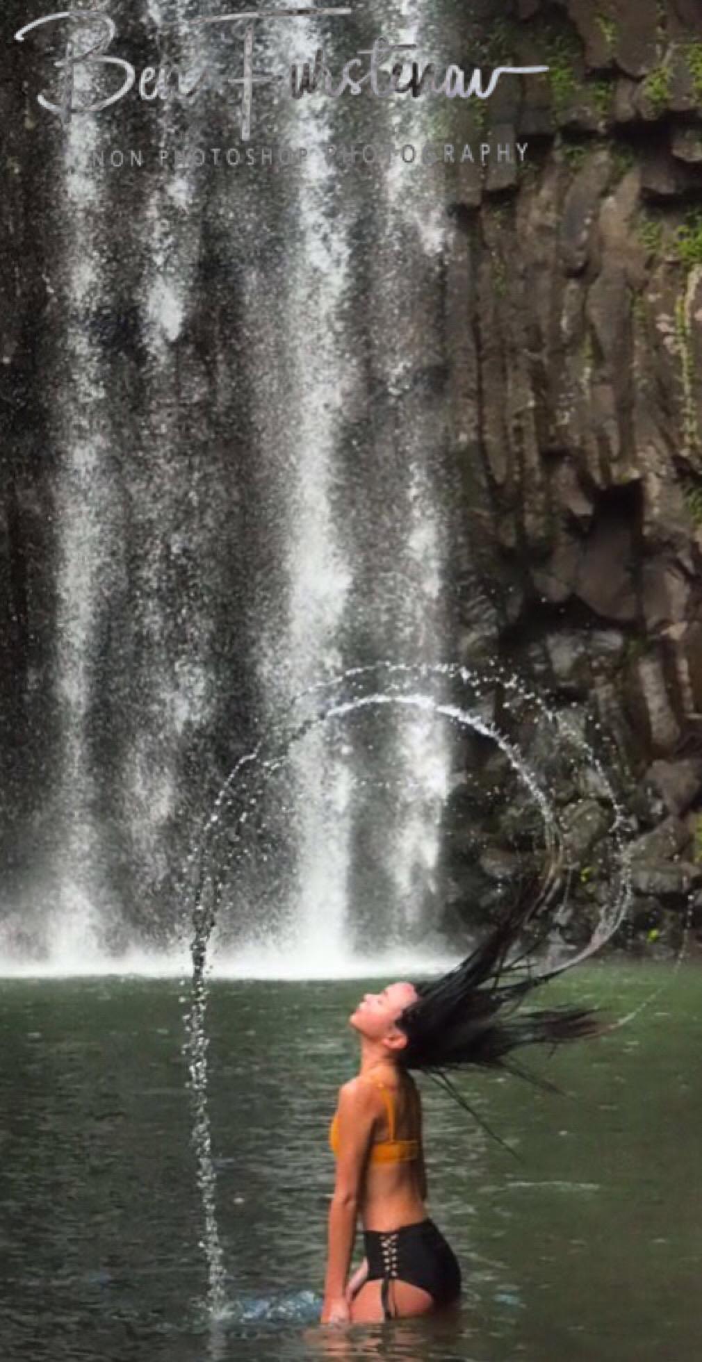 Perfect circle at Millaa Millaa Falls, Atherton Tablelands, Far North Queensland, Australia