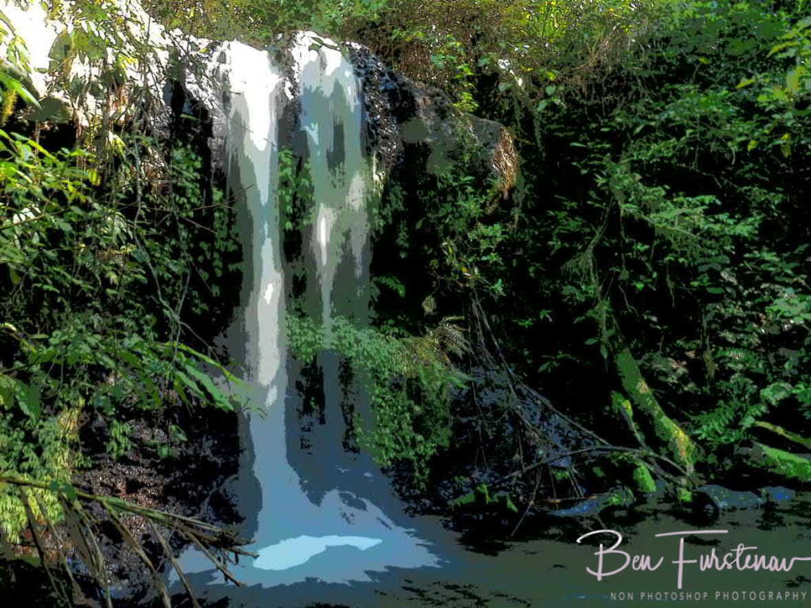 Surprise Falls at Atherton Tablelands, Far North Queensland, Australia