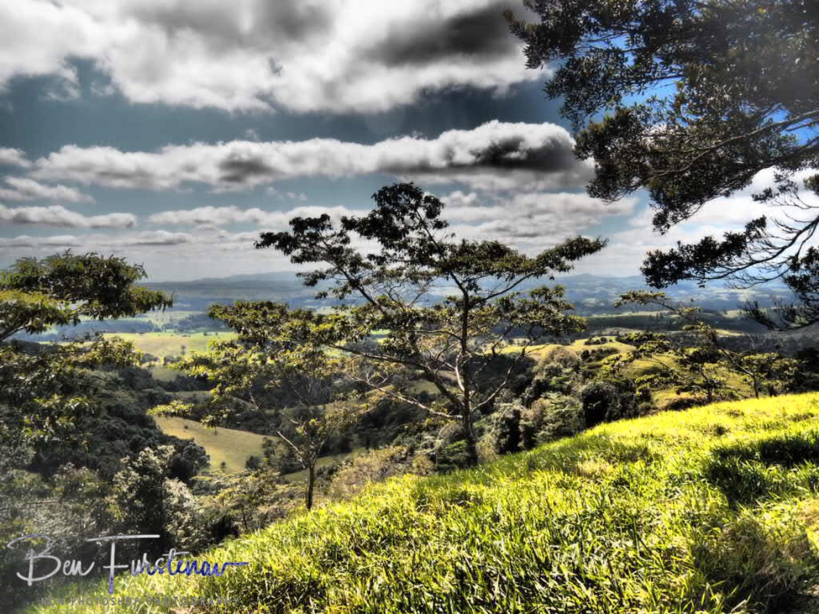 Highland view over Atherton Tablelands, Far North Queensland, Australia