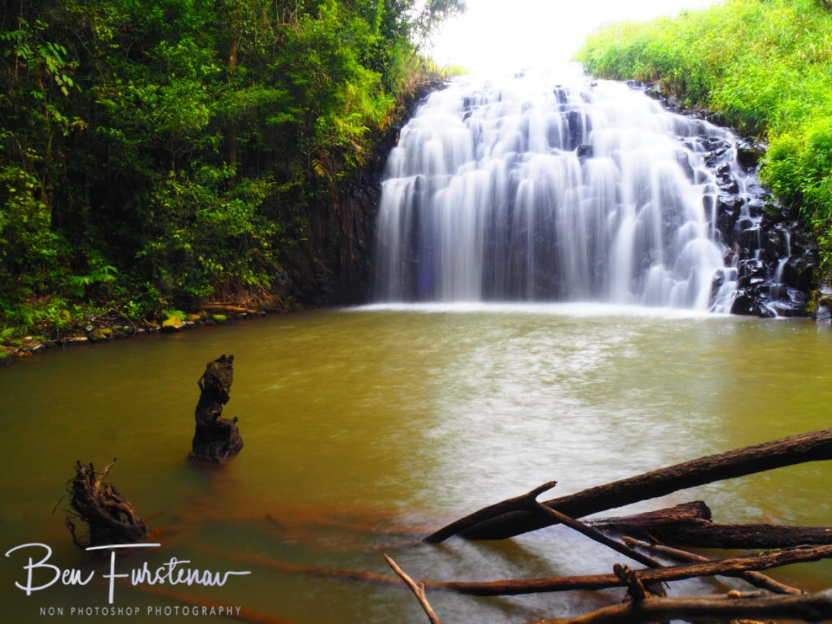 Water bouncing of rocks at Atherton Tablelands, Far North Queensland, Australia