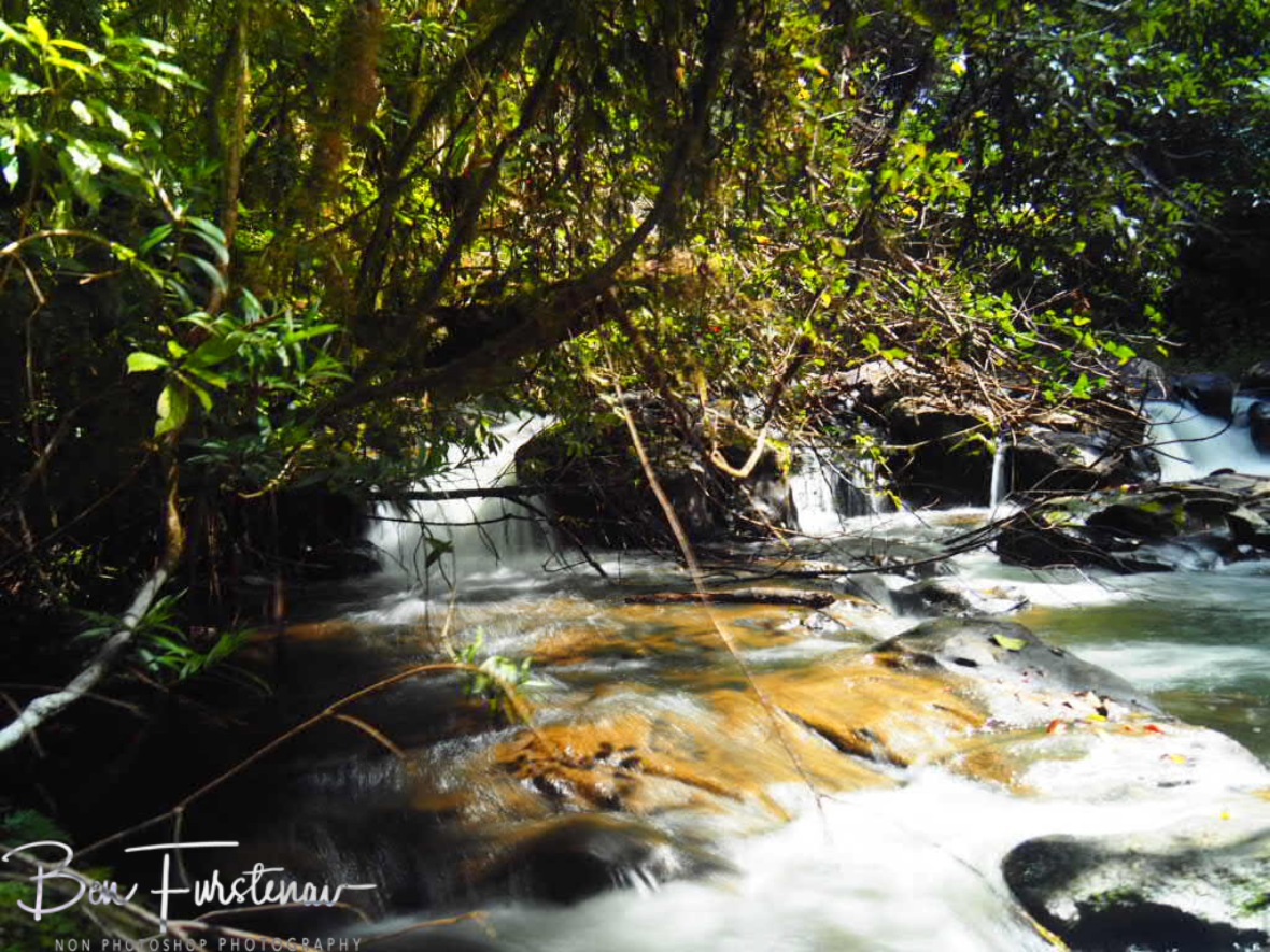 Creek diversion at Atherton Tablelands, Far North Queensland, Australia