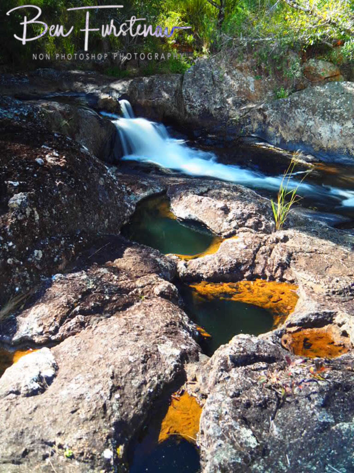 static and running waters at Atherton Tablelands, Far North Queensland, Australia