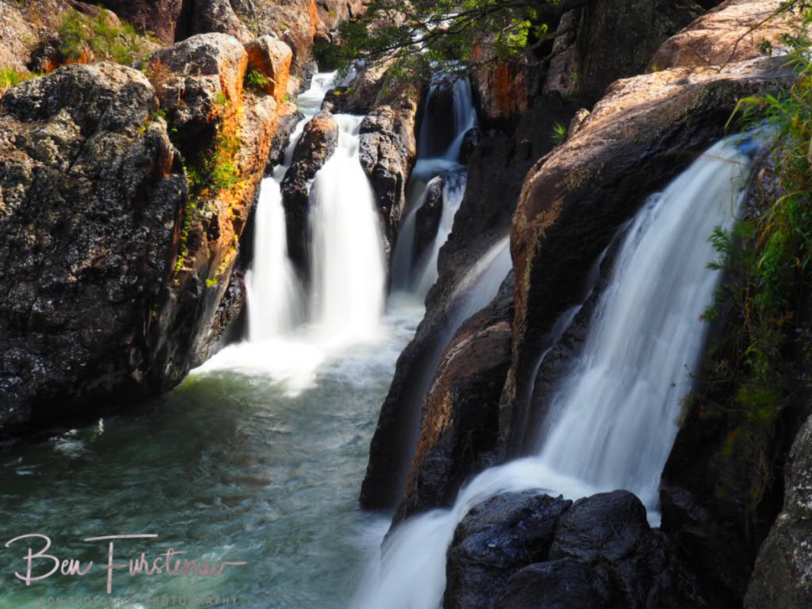 Just enough angle for all cascades, Atherton Tablelands, Far North Queensland, Australia