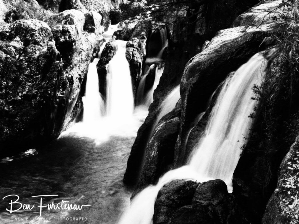Dramatic waters in black and white, Atherton Tablelands, Far North Queensland, Australia