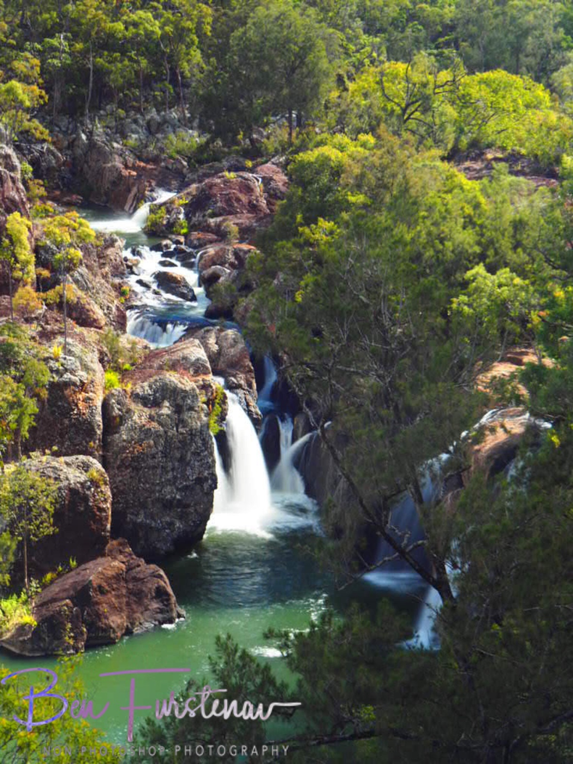 Creek diversions, Atherton Tablelands, Far North Queensland, Australia