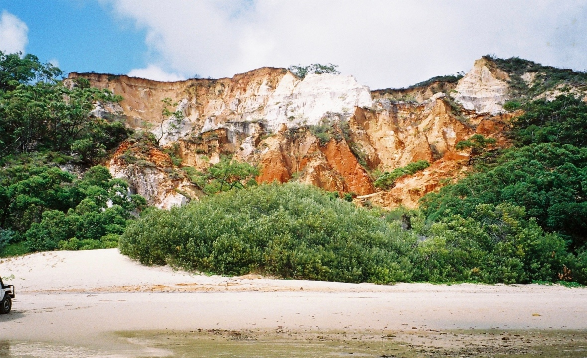 Rainbow Beach at Elim Beach, Cape York Peninsula, Far North Queensland, Australia