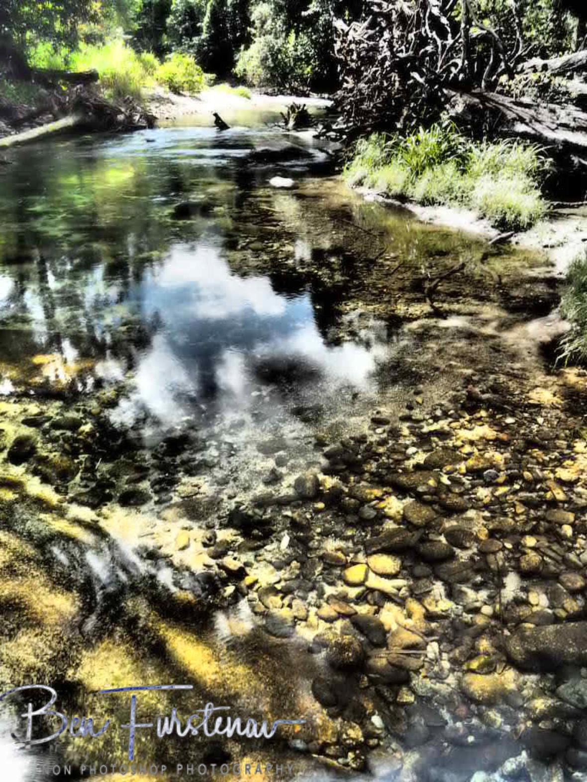 Pool reflections at Babinda, Tropical Northern Queensland, Australia
