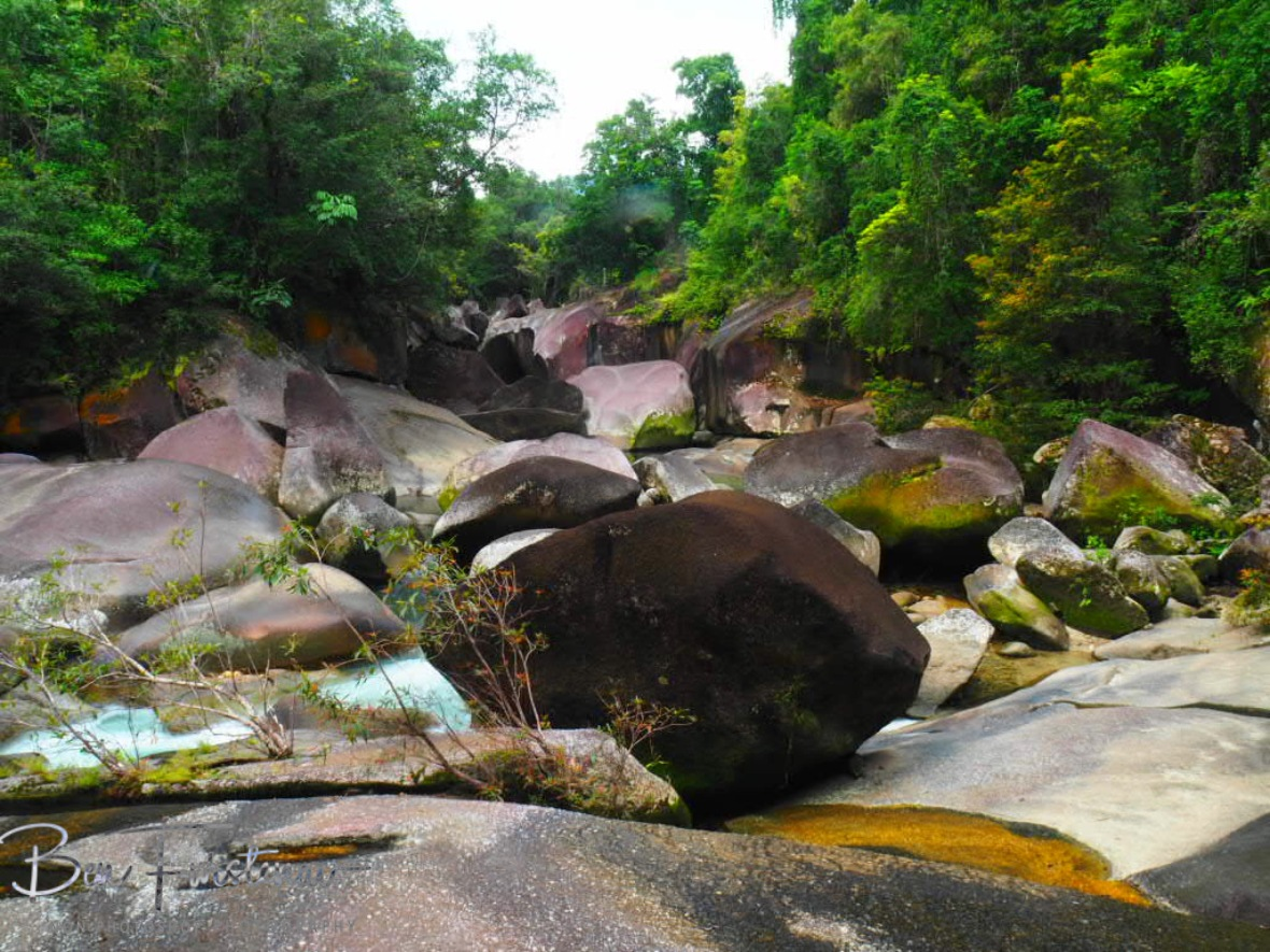 Babinda Boulders  at Babinda, Tropical Northern Queensland, Australia