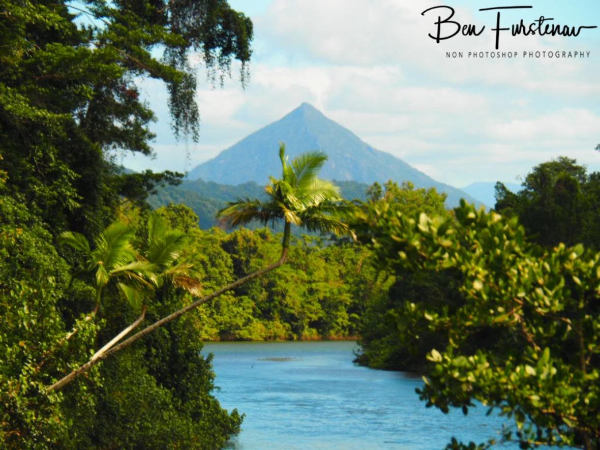 Distant peaks  at Babinda, Tropical Northern Queensland, Australia