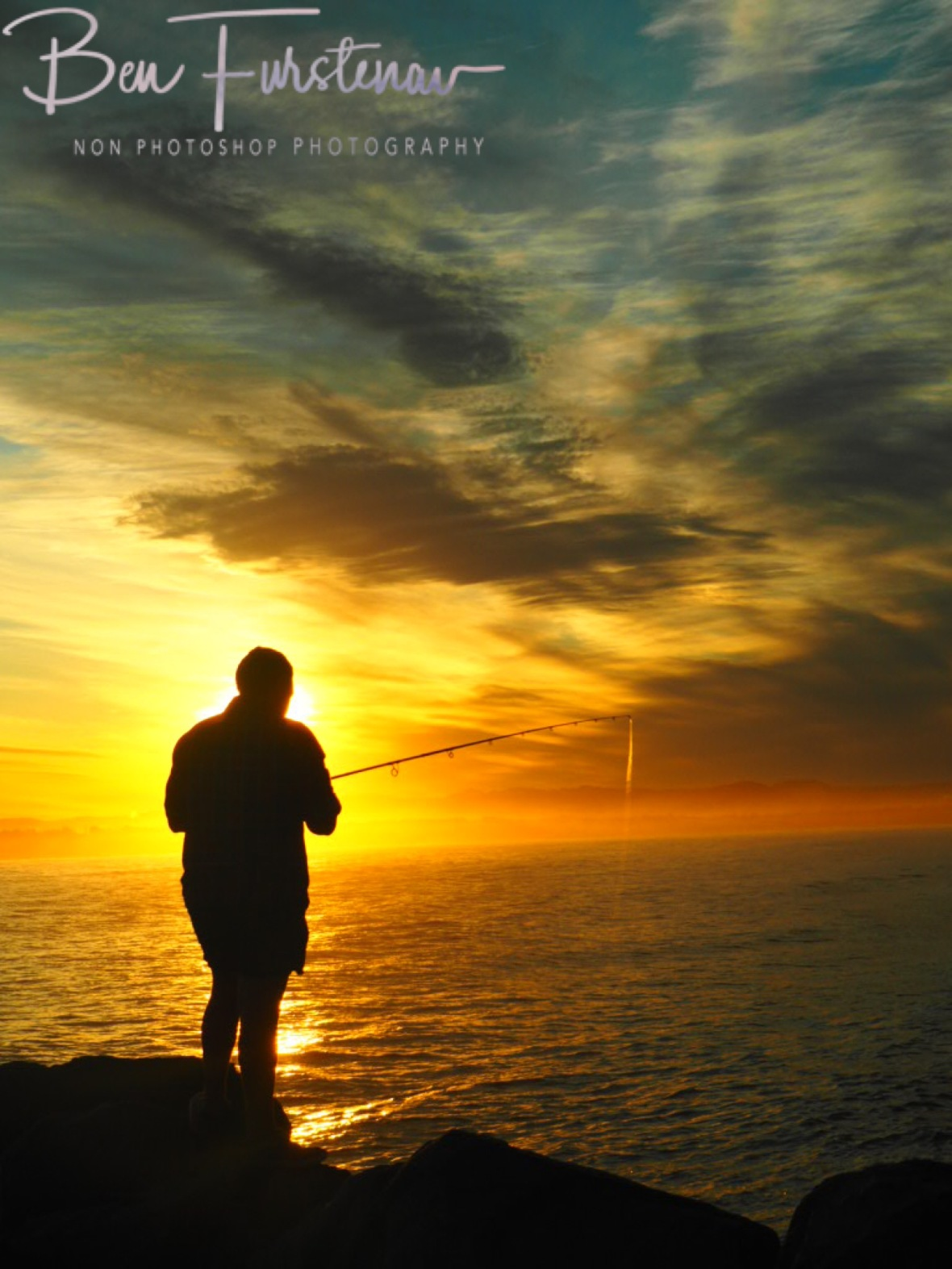 Fishing @ Crowdy Head, Northern New South Wales, Australia