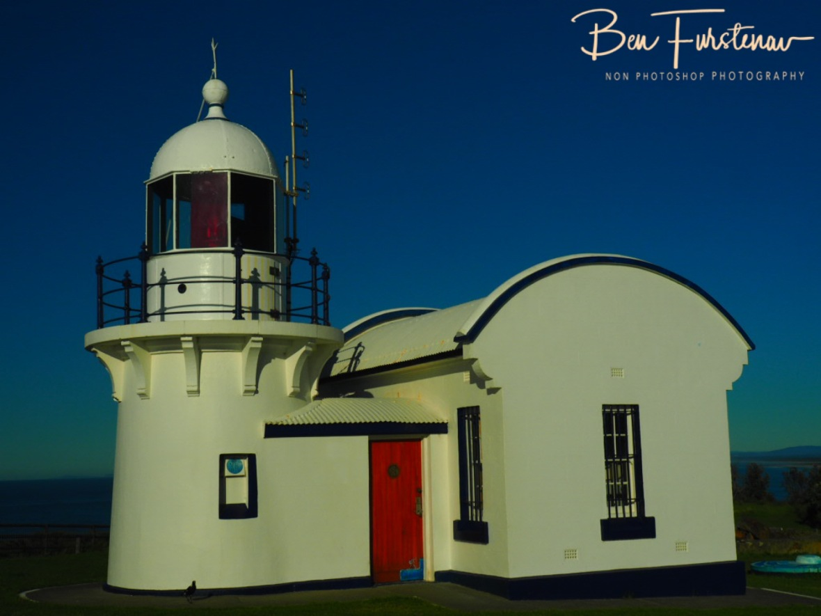 Cute lighthouse @ Crowdy Head, Northern New South Wales, Australia