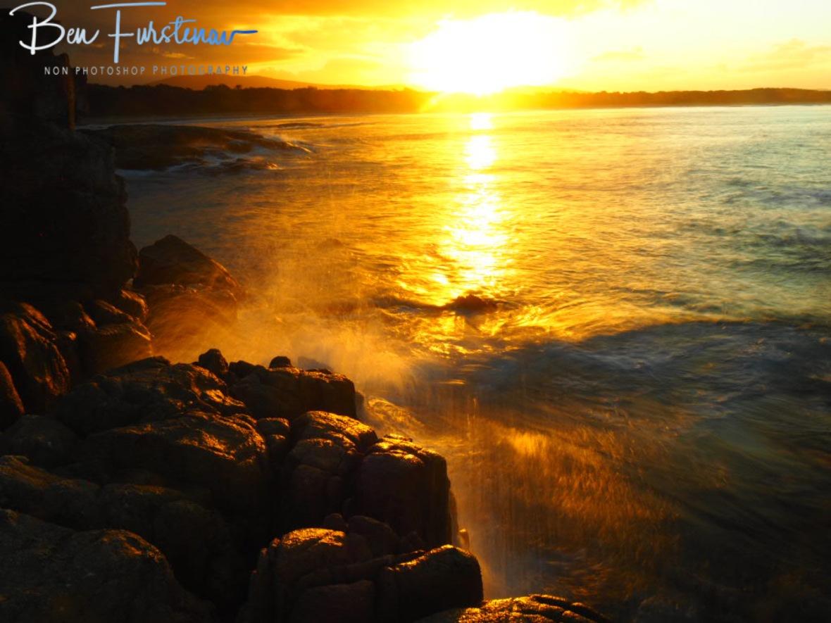 Diamonds and gold @ Diamond Head, Crowdy Bay, Northern New South Wales, Australia