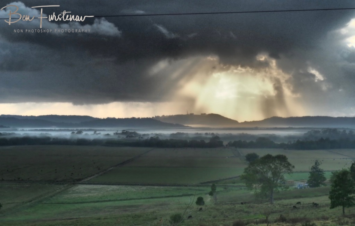Low lying clouds @ Lismore area, Northern New South Wales, Australia