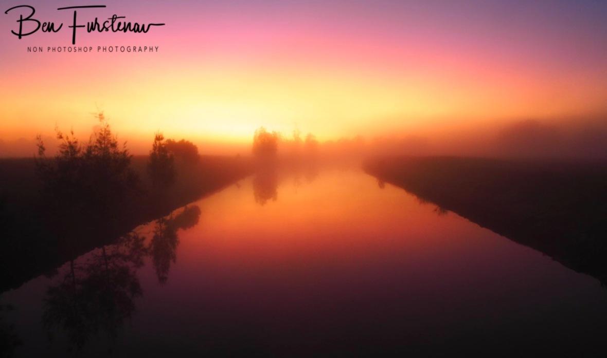 Foggy sunrise @ Ulmarra, Northern New South Wales, Australia