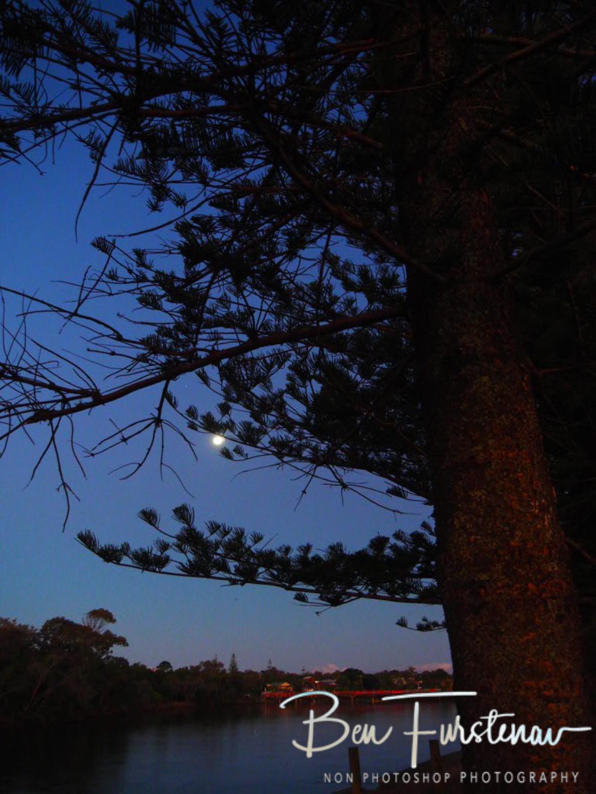 Full moon @ Brunswick Heads, Northern New South Wales, Australia